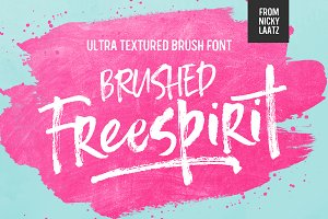 Freespirit Brush Fonts