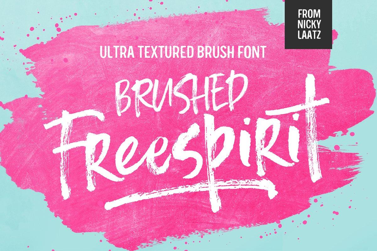 Freespirit Brush Fonts