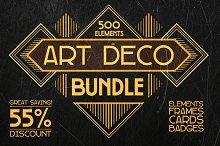 Art Deco Bundle 500 elements