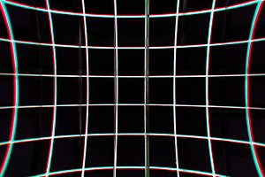 Virtual retro grid illustration background