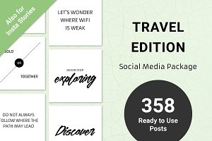 Travel Edition - Social Media