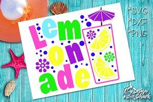 Lemonade SVG/DXF/PNG