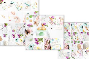 BUNDLE 50 PHOTOS Spring pastels