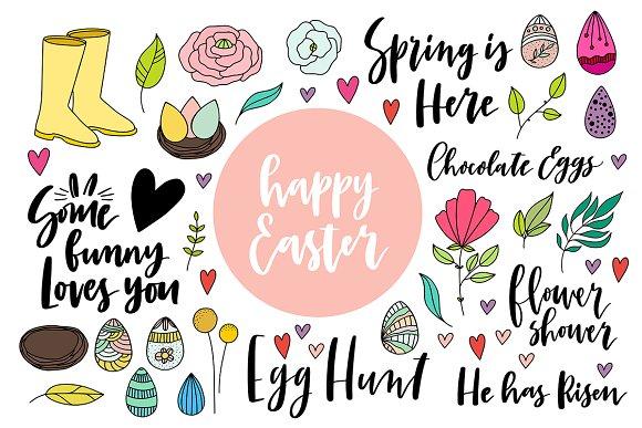 Pack Of Easter Doodles