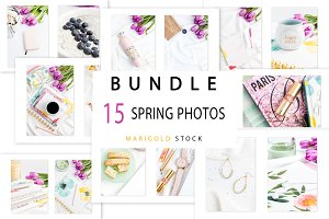 BUNDLE 15 photos Spring Vibes - B2