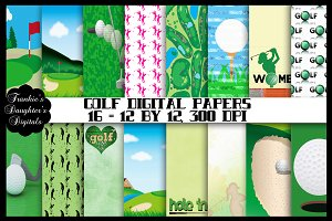 Golfer's Digital Papers