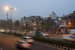 Delhi street, India