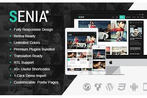 Senia - WordPress Magazine Theme