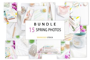 BUNDLE 15 Photos Spring Vibes - B7