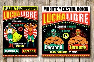 Lucha Libre Vintage Set (6)
