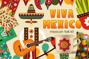 Viva Mexico - Mexican folk kit