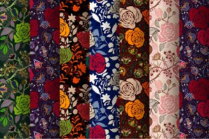7 Roses Patterns