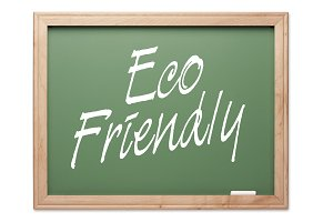 Eco Friendly Green Chalk Board