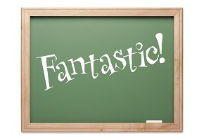 Fantastic! Green Chalk Board