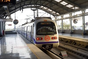 Metro Station, Delhi India