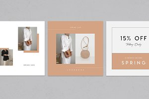 15 Fashion Social Media Templates