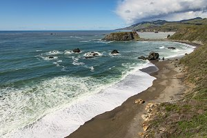 Goat Rock Beach, Northern California