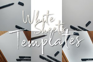 White sheets - Templates