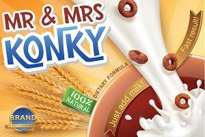 Mr & Mrs Konky