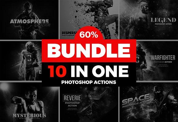Mega 10 Photoshop Actions Bundle