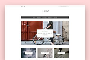 Lora - A WordPress Blog Theme