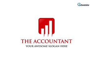 The Accountant Logo Template