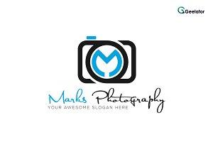 Marks Photography - Letter M Logo