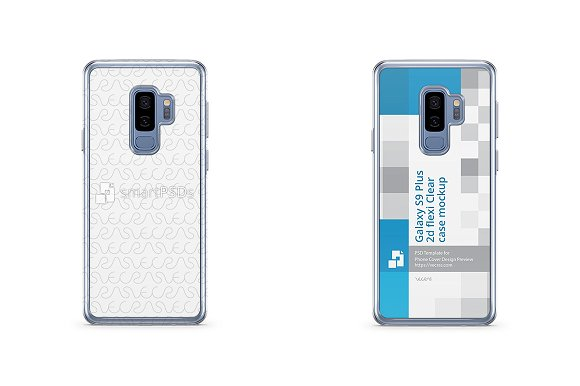 Galaxy S9 Plus 2d Flexi Clear Case