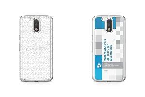 Moto G4 Plus 2d Flexi Clear Case