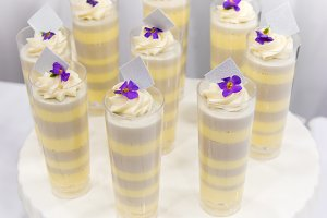 Wedding Dessert Cream Cups