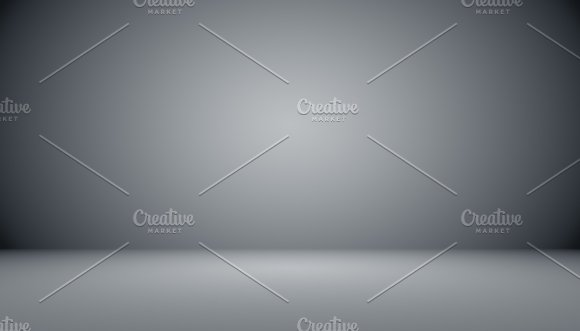 Abstract Luxury Black Gradient With Border Vignette Background S