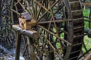 water wheel, Black Forest, Germany