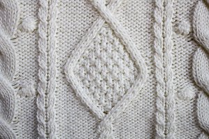 Sweater texture, knitted wool patter