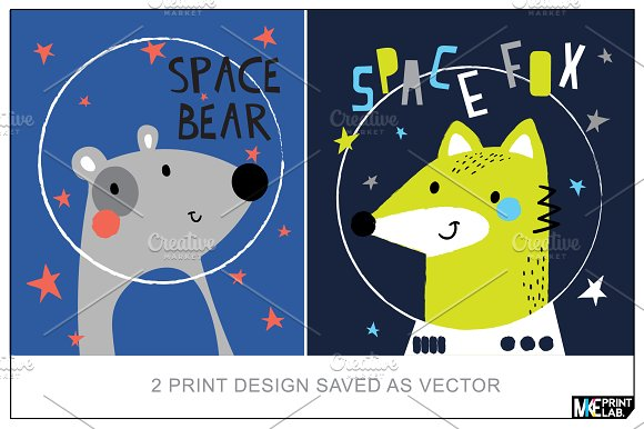 2 VECTOR ILLUSTRATION FOR KIDS