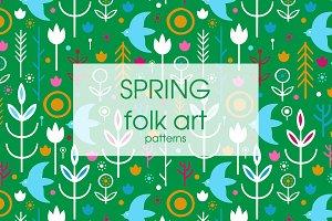Spring folk art collection.