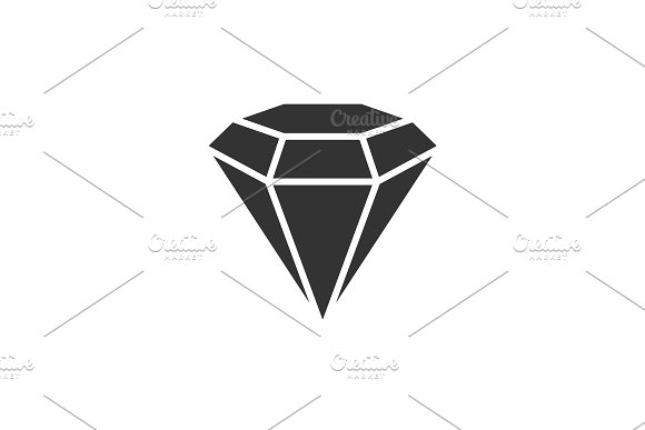 Diamond Black Icon