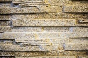 Decorative rock&#x3B; elements of plaster