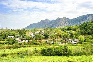 Mountain village, Philippines