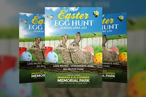 Easter Egg Hunt - Flyer Template