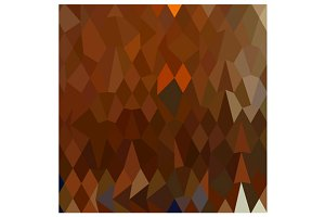 Brown Forest Abstract Low Polygon Ba