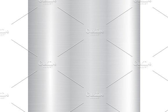 Silver Metallic Gradient