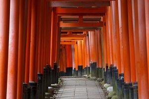 Fushimi Inario, Kyoto
