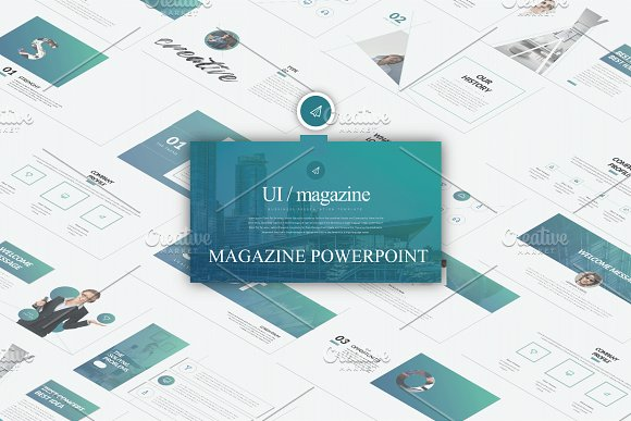 Magazine Presentation Templates