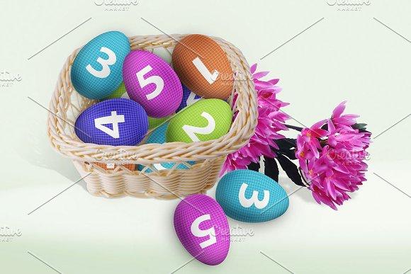 Easter Eggs Basket V.1