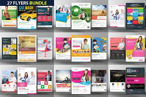 27 Corporate Business Flyers Bundle