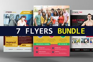 7 Business Flyer Bundle