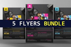 5 Modern Business Flyer Bundle