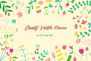 Clarity Vector Flower
