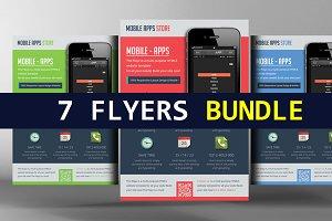 7 Creative Business Flyer Bundle