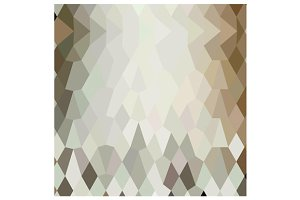 Field Drab Abstract Low Polygon Back